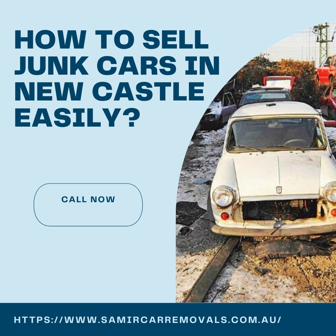 sell junk cars in New Castle easily