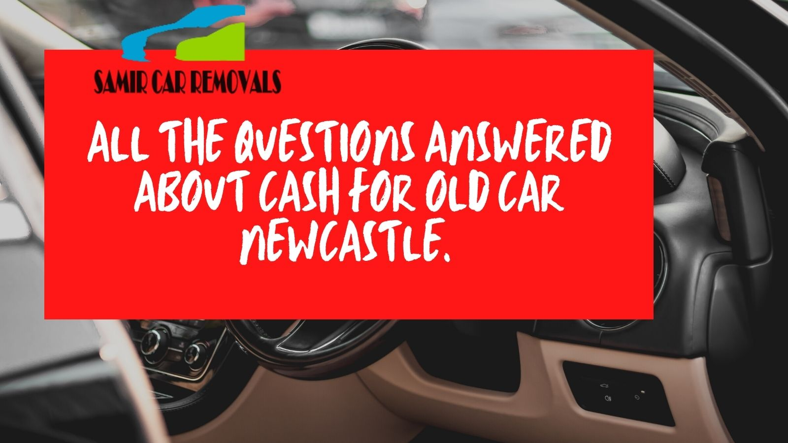 car removal service like Samir car removals will help you in getting rid of it and also give you cash for unwanted cars